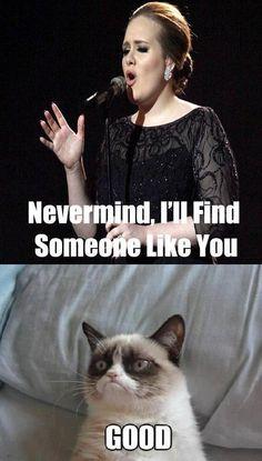 Grumpy Cat is at it again!