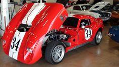 1964 Shelby Cobra Daytona 331 Stroker V8 Weber Carbs - Replica by Shell ...