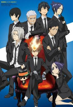 Anyone looking for COOL looking and HOT guys? Vongola Decimo & Guardians Complete