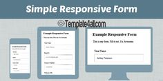 5 Awesome Free Responsive HTML5 CSS3 Contact Forms #contact #html5 #css3 #responsive #template4all