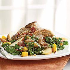 lights, panroast chicken, bacon vinaigrett, chicken dishes, mobiles
