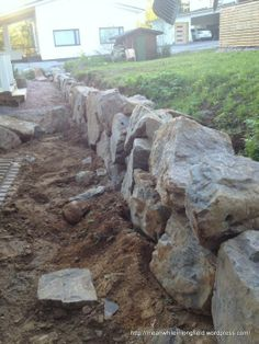 Meanwhile in Longfield. Meanwhile In, Backyard Patio Designs, Landscaping With Rocks, Hillbilly, Dream Garden, Garden Projects, Garden Inspiration, Garden Design, Stones