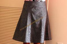 cute flare skirt - free pattern