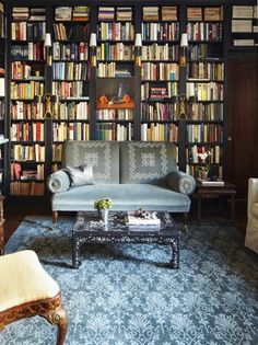 20 home libraries that will give you shelf envy.
