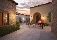 Conveniently move the oven anywhere. The Cupola oven has a refractory cooking surface great for holding heat. Wood Fired Oven, Wood Fired Pizza, Alfa Alfa, Italian Cooking, Firewood, Brick, Patio, Traditional, Building
