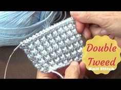 Baby Buds Knit Stitch | Buds Knitting Pattern - YouTube
