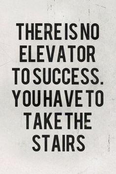 Hard work will do it. #advice