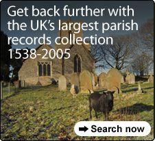 Parish baptisms, marriages and burials