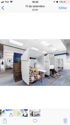 Office Pods, Loft, Inspirational, Architecture, Bed, Furniture, Home Decor, Mesas, Arquitetura