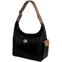 d5216e5243 Przenośne torby Longchamp Le Pliage Hobo czarne Sac A Dos Longchamp,  Longchamp Taschen, Longchamp