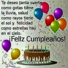 Trendy Happy Birthday Messages In Spanish Ideas Spanish Birthday Wishes, Happy Birthday Wishes Quotes, Birthday Blessings, Happy Birthday Pictures, Happy Birthday Greetings, Happy B Day, Continue Reading, Gardenias, Miyagi