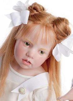 Porcelain Dolls | Beautiful Collectible Porcelain Dolls Hildegard Gunzel Extraordinary ...