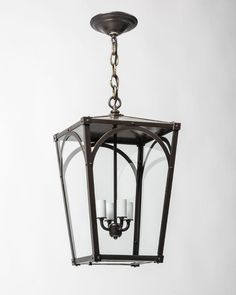 Mercer 17 Exterior Lantern by Remains Lighting.