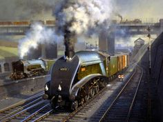 A4 Pacific Locomotive 'Gannet ' No.4900 during LNER days 60032 BR scrapped in 1963
