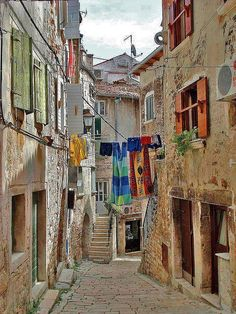 Rovinj, Istria (Croatia) ~ Loved this town! Not only picturesque, but gastronomic pleasures abound!