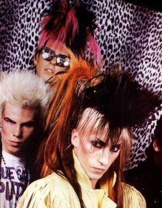 80's glam punk