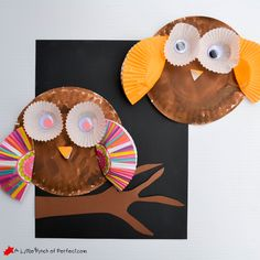 Paper Plate Mayflower Thanksgiving Craft with Pete the Cat - Fall Crafts For Kids Owl Crafts Preschool, Fall Preschool Activities, Preschool Projects, Toddler Crafts, Craft Kits For Kids, Fall Crafts For Kids, Autumn Crafts, Thanksgiving Crafts, Paper Plate Crafts