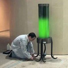 Lamp op algen. Foto: Fermentalg
