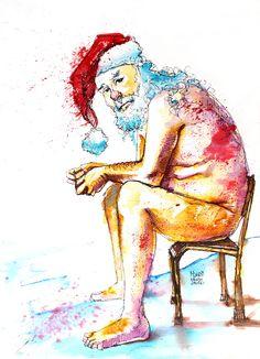 It ain't easy bein' Santa.