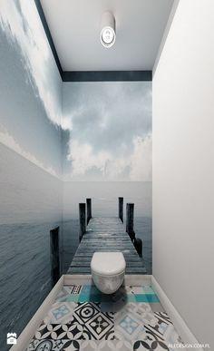 Toilet in ocean environment