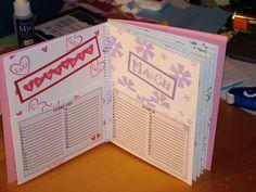 My First Card Organizer - inside