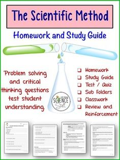 Teach, review and reinforce these very important science skills ...