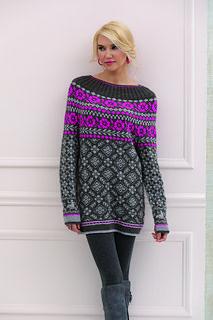 Three-piece Rose Pattern Set pattern by Deborah Newton Fair Isle Knitting Patterns, Sweater Knitting Patterns, Knitting Socks, Knitting Stitches, Free Knitting, Tejido Fair Isle, Fair Isles, Knit Jacket, Vintage Knitting
