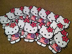 Hello Kitty Birthday Invitation