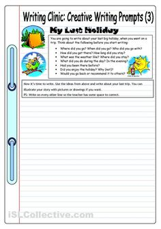 √ Creative Writing Worksheets for Grade 3 . 5 Creative Writing Worksheets for Grade 3 . Writing Clinic Creative Writing Prompts 6 the Best Job Creative Writing Pictures, Creative Writing Topics, Creative Writing Worksheets, Kindergarten Writing Prompts, Writing Prompts For Writers, Picture Writing Prompts, Writing Activities, Writing Test, Paragraph Writing
