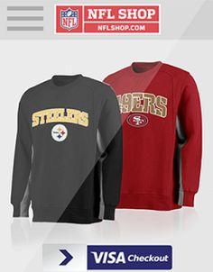 FREE $25 off ANY $25.01 NFLShop Credit! + FREE Shipping (Visa Checkout) Read more at http://www.stewardofsavings.com/2015/10/free-25-off-any-2501-nflshop-credit.html#12vQ42iTDlMm36Jk.99