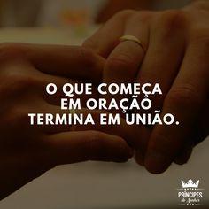 Comece seu relacionamento com oração ☺️<br />Se inscreva no nosso canal: youtube.com/principesdosenhor