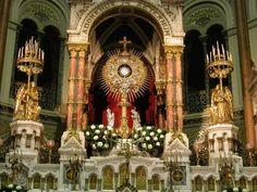 """""""La desafección creciente de muchos fieles a la práctica religiosa y, consecuentemente, al culto debido al Santísimo Sacramento, responde a circunstancias ..."""