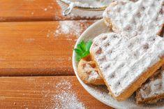 Waffles heart on white plate by Mellisandra on @creativemarket