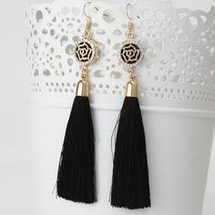 %% New Tassel Long Earrings For Women Bijoux Fashion Jewelry...