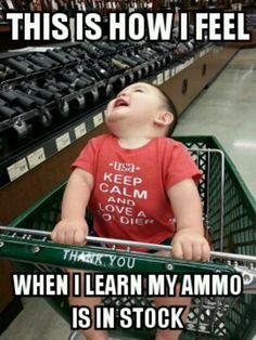 This reminds me of someone. @Lindi Perry Gun Humor, Gun Meme, Cool Guns, 2nd Amendment, Gun Control, Shooting Range, Trap Shooting, Gun Rights, Gun Cabinets