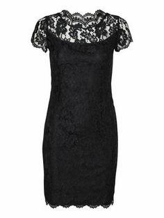 UNDERSTAND S/S SHORT DRESS, Black, main