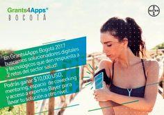 Venezuela convocada al Grants4Apps Bogotá 2017