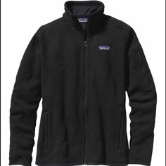 Patagonia Women's Better Sweater Fleece Jacket Color- Black US Size Medium Full Zip 100% Authentic NEW WITH TAGS Patagonia Jackets & Coats