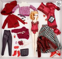 Exclusive fashion for integrity toys poppy parker, fashion royalty, nuface, barbie and silkstone 12 inch doll Integrity, Barbie Dolls, Poppy, Royalty, Silk, Toys, Lady, Outfits, Fashion