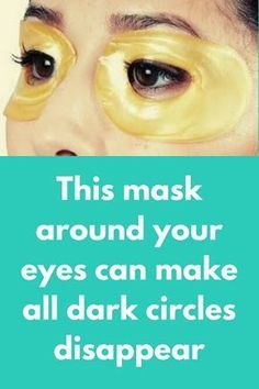 This mask around your eyes can make all dark circles disappearToday I am going to share one natural solution that will remove all dark circles around your eye area very fats. In just 1 use of this you can see a big change yourself. To prepare this mask you will need Potato juice – This is very effective to remove under eye dark circles because …