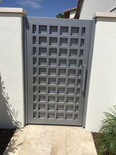 Wrought Iron Metal Gates for Courtyards & Gardens Metal Gate Door, Metal Garden Gates, Metal Gates, Wrought Iron Gates, Garden Doors, Metal Doors, Front Door Design Wood, Grill Door Design, Front Gate Design