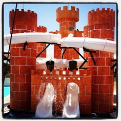 Family resort featuring a water park for kids to enjoy a great vacation