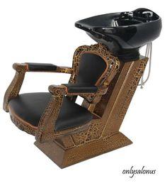 New Antique Backwash Shampoo Unit Chair Beauty Barber Salon Equipment Supplies | eBay