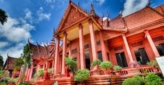 National Museum Phnom Penh , Cambodia #SaffronTravel #MICE #Travelmediate #Cambodia