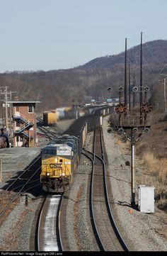 O Train, Train Room, Train Tracks, Cumberland Maryland, Csx Transportation, Railroad Photography, Train Pictures, Railroad Tracks, United States