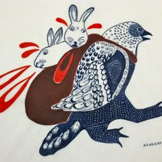 Rock, Paper, Scissors: An Exploration of Inuit Art will be on display at Acadia's Art Gallery March 2 until April Madhubani Art, Inuit Art, Native American Artists, Art Themes, Aboriginal Art, Native Art, Spirals, First Nations, Pacific Northwest
