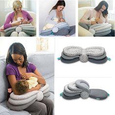 Baby Milk Feeding Self-Feeding Cushion Pillow Contoured Feeding Bottle Support L