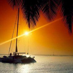 Sur un catamaran...