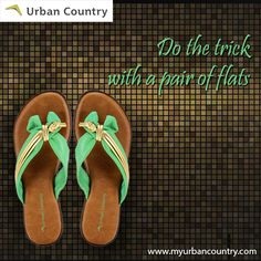 Ladies flat shoes, the perfect choice for both on & off duty styling. #Shoes just for you. http://bit.ly/MyUrbanCountry