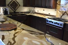 Roma Imperiale Quartzite Countertop Just Installed Progress Kitchens Amp Baths